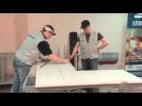 Изготовление столешниц из искусственного камня Staron Старон. Видео 10 из 15.