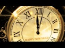 Happy New Year CLOCK 2019 ( v 473 ) Original Countdown Timer with Sound Effects Voice 4K