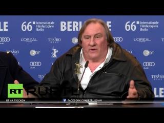 Жерар Депардье: Я по настоящему люблю Россию и безмерно уважаю своего президента