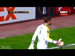 Краснодар 1-0 Боруссия Д / гол Мамаев