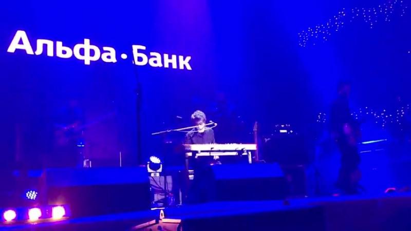 Земфира Жить в твоей голове Москва Space Moscow 18 12 2015