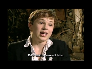 The Chronicles of Narnia The Lion...: Georgie Henley, Skandar Keynes & William Moseley Interview - SUB ITA