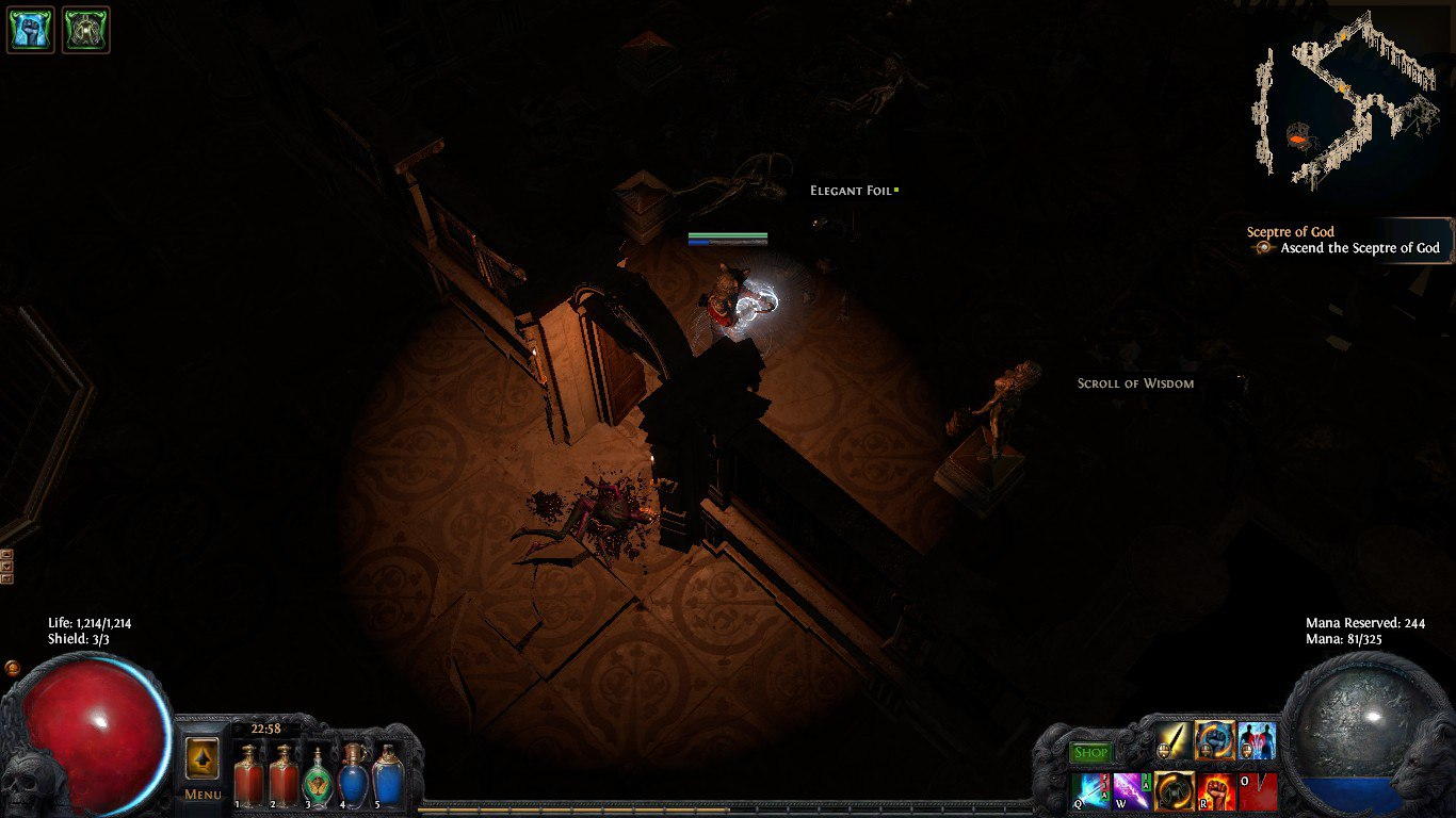 Forum Bug Reports Amazing Light Show In Sceptre Of