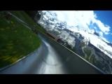 Ребята устроили себе покатушки в Швейцарских Альпах, построив комбинацию американских горок и бобслея