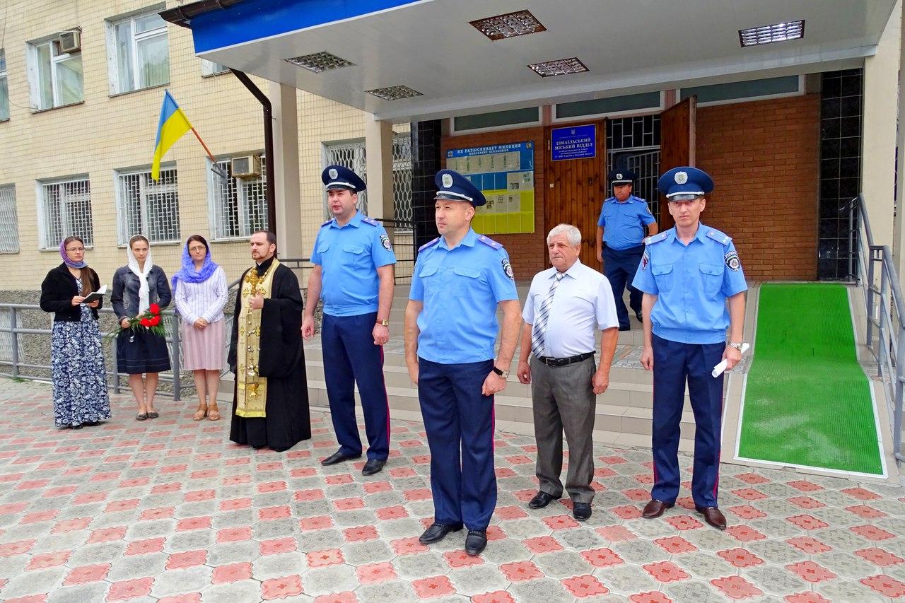 В Измаиле почтили память милиционеров, погибших при исполнении долга