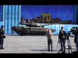 Распиаренный российский танк «Армата» заглох во время генеральной репетиции парада в Москве