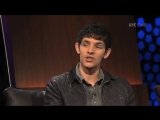Merlin S4   Colin Morgan, Eoin Macken  Katie McGrath on The Late Late Show 2011-10-14