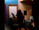 May Undead Puertas (TORTURE SQUAD ) vocals recording for the new EP and episode of the new video shooting