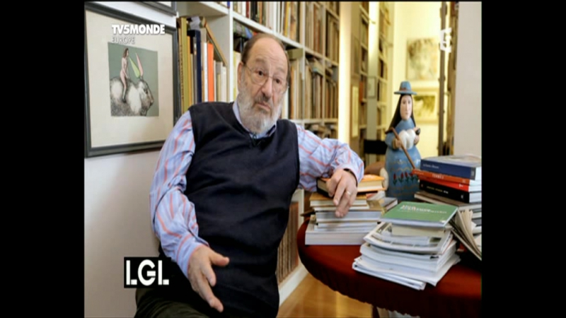 La Grande Librairie (interview d'Umberto Eco)