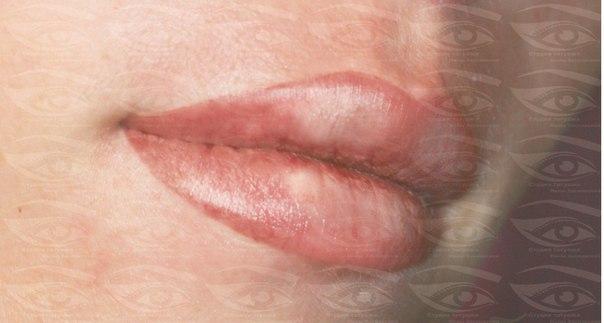 Татуаж губ с 3д эффектом