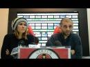 Conferenza stampa Valentina Maio e Carlo Mammarella
