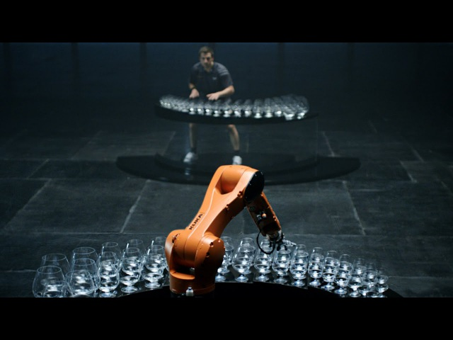 The Revenge: Timo Boll vs. KUKA Robot