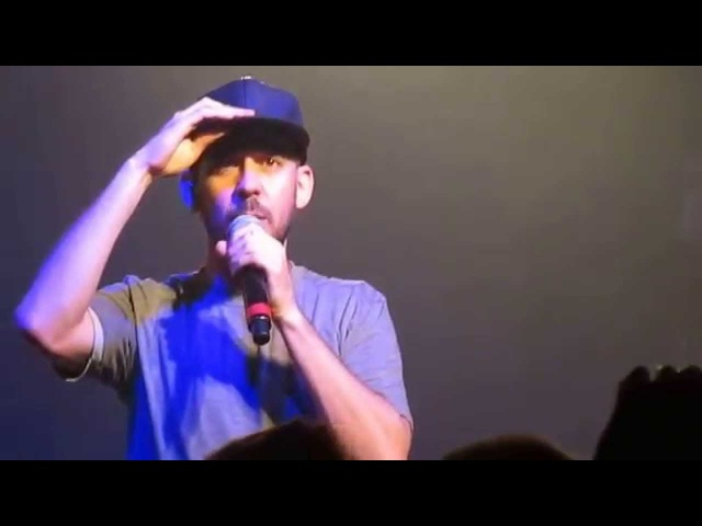 Mike Shinoda discusses his song Kenji and racism - Fort Minor - London - September 2015
