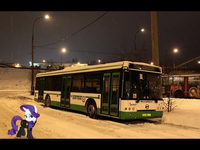 Поездка на автобусе ЛиАЗ-5292.21 № 09166 Маршрут № 619 Москва