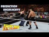 WWE 2K16 Brock Lesnar vs Dean Ambrose vs Roman Reigns | Fastlane 2016 - Prediction Highlights
