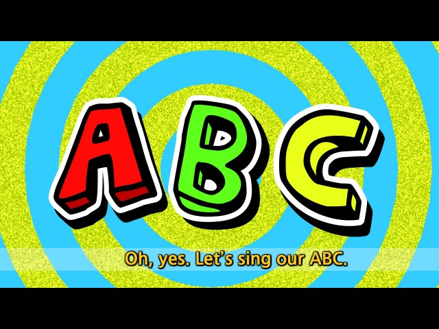 ABC Song 1 - Alphabet Song - English song for Kids - Sing along