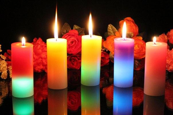 Ведьмин субботник со свечами