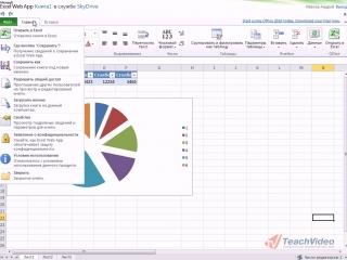 Microsoft® Office 2010 - Доступ к документам через веб-приложение Excel®