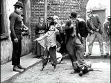 The Kid. Charlie Chaplin - Fight scene