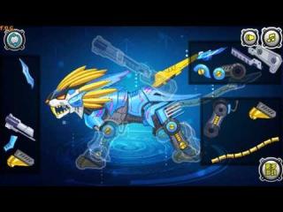 Assembling Machine Lion (Собрать робота: Трансформер лев) - прохождение игры