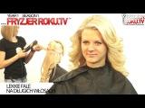 Lekkie fale na długich włosach. Simple updo for long hair FryzjerRoku.tv