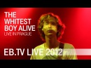 The Whitest Boy Alive live in Prague 2012