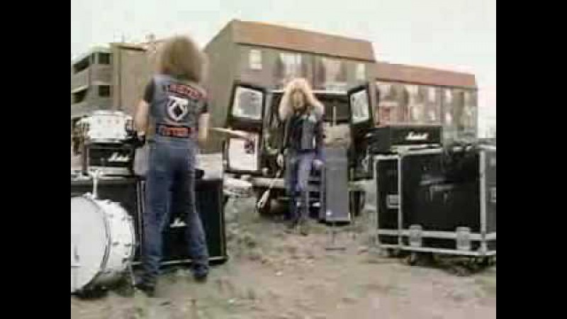 Twisted sister- you cant stop rock n roll (official video)