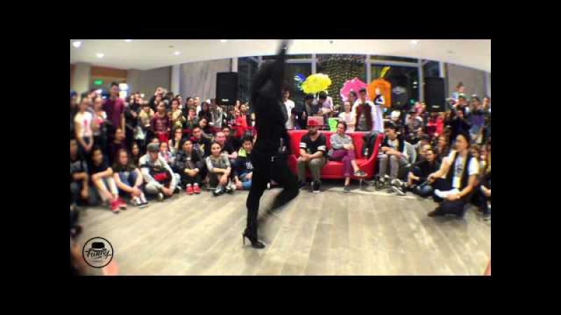 Princess Lockeroo | Waacking Judge Showcase | Spring Funky Summit 2015