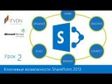 Урок 2. Ключевые возможности SharePoint 2013