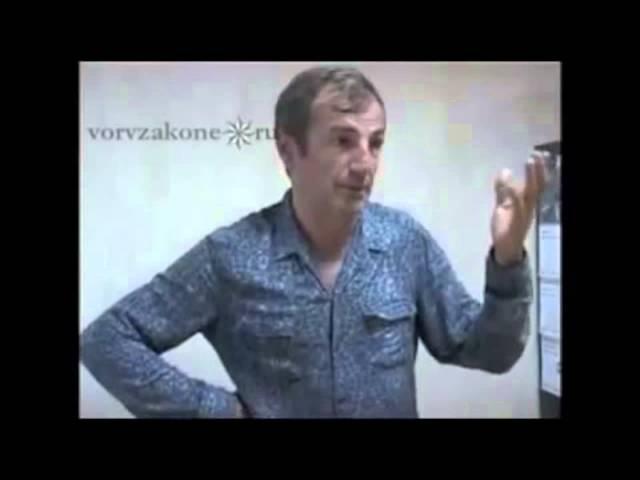вор в законе Зиявудин Абдулхаликов (Зява)- работал до коронования.. криминал тюрьмы россии.