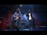 Kid Cudi - Pursuit Of Happines feat. Ratatat (Late Show With David Letterman) 2009