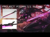 Project Fiora Weapons from LOL By Mr Laser Digital Craft