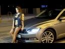 Новый Volkswagen Passat B8 и наша очаровательная модель Маша Емец