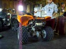 KFX 700 Pro Circuit Ti-4 dual exhaust