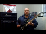 Jackson JS30RR Randy Rhoads V Review Demo