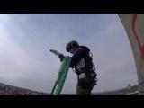 прыжок видом с другой камеры