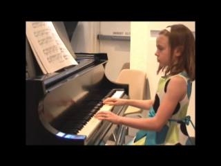 Бетховен - К Элизе (классно играет 9-летняя девочка)