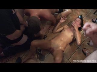 Chezh gang bang 19    hd blowjob sex suck deep throat анал минет fetish оргия orgy brazzers porno xxx anal gang bang