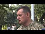 Цветы, сине-желтые флаги и слезы радости на глазах – встреча 43-й батальон