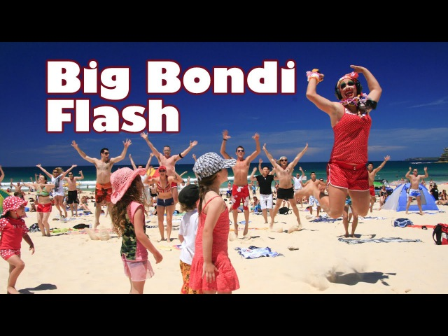 The Big Bondi Beach Flash Mob [ORIGINAL]