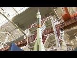 На космодром `Восточный` поездом доставят блоки новой ракеты-носителя `Союз` - Первый канал