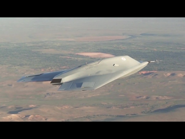 BAE Systems Taranis Unmanned Combat Air Vehicle UCAV First Flight 1080p