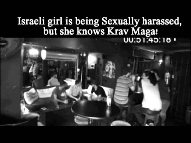 Israeli girl is being Sexually harassed but she knows Krav maga