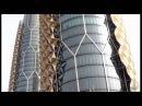 Борьба с жарой в Абу-Даби. Башни близнецы - Аль-Бахар.