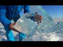 LAKE BAIKAL NATURAL ice sound