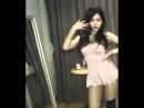 Сочная кореянка танцует