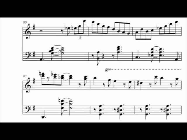 Jazzy Jingle Bells - Jacob Koller - Advanced Piano Arrangement With Sheet Music