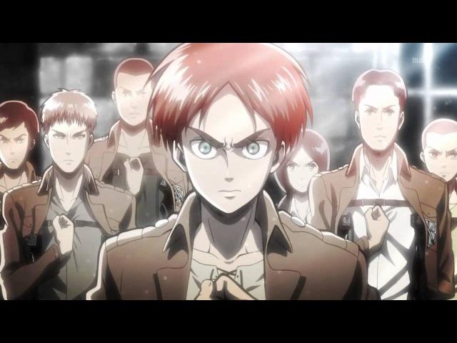 Shingeki no Kyojin 進撃の巨人 OP Opening Guren no Yumiya Linked Horizon
