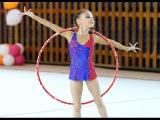 Художественная гимнастика. Упражнения с обручем_9