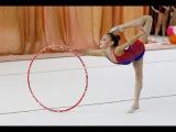 Художественная гимнастика. Упражнения с обручем_8